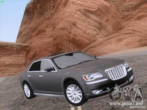Chrysler 300 Limited 2013 para la vista superior GTA San Andreas