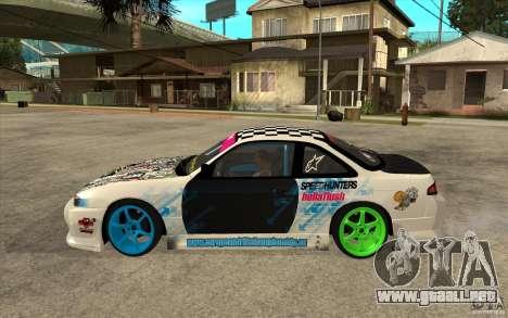 Nissan Silvia S14 Drift Bomb para GTA San Andreas left