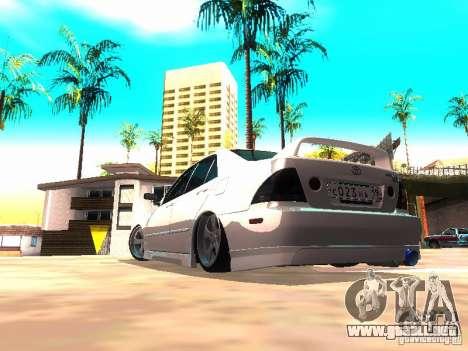 Toyota Altezza HKS para la visión correcta GTA San Andreas