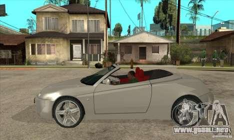 Alfa Romeo Spyder para GTA San Andreas left