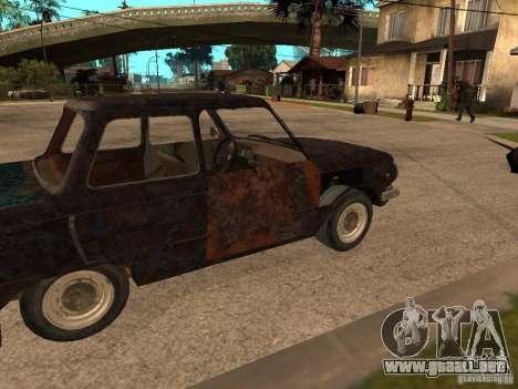 ZAZ-968 abandonado para la visión correcta GTA San Andreas