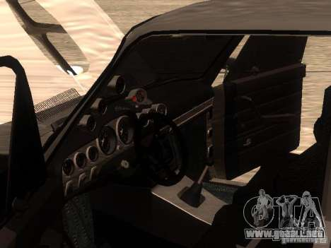 VAZ 2106 Drag Racing para vista lateral GTA San Andreas