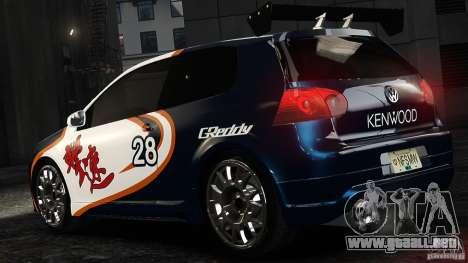 Volkswagen Golf V GTI Blacklist 15 Sonny v1.0 para GTA 4 left