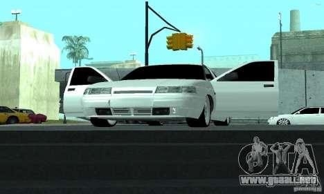 VAZ-2112 para la vista superior GTA San Andreas