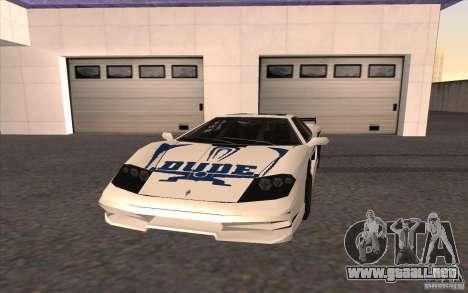 El nuevo Turismo para GTA San Andreas