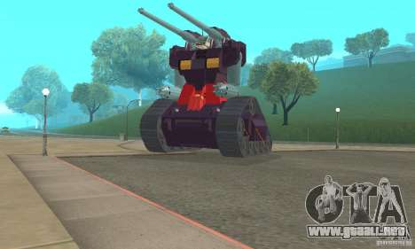 Tanque RX-75-4 Guntank para GTA San Andreas