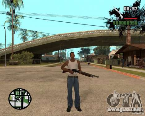 Chromegun HD para GTA San Andreas tercera pantalla