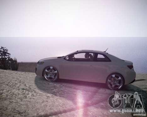 Kia Cerato Koup 2011 para GTA 4 left