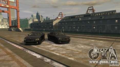 Dodge Charger Fast Five para GTA 4 visión correcta