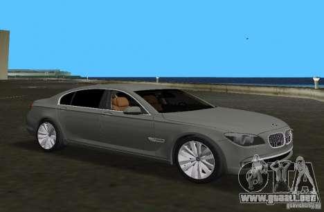 BMW 750 Li para GTA Vice City left
