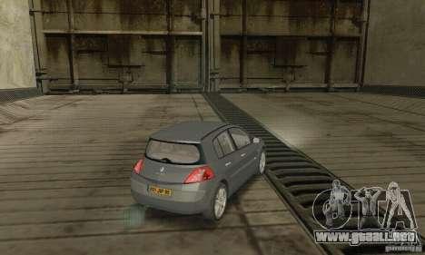 Renault Megane II 2005 para GTA San Andreas left