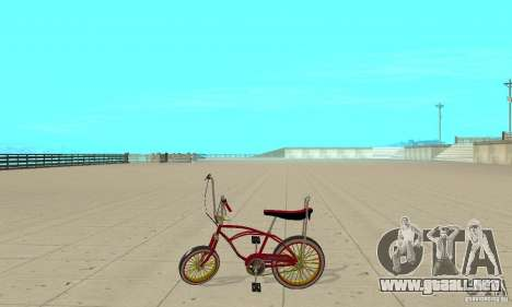 CUSTOM BIKES BMX para GTA San Andreas left