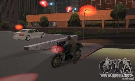 Luces rojas para GTA San Andreas sucesivamente de pantalla