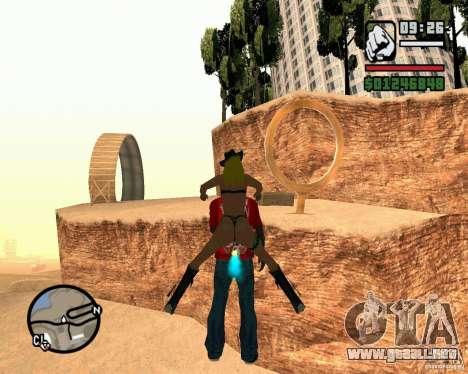 La torre inclinada de Pisa para GTA San Andreas sucesivamente de pantalla