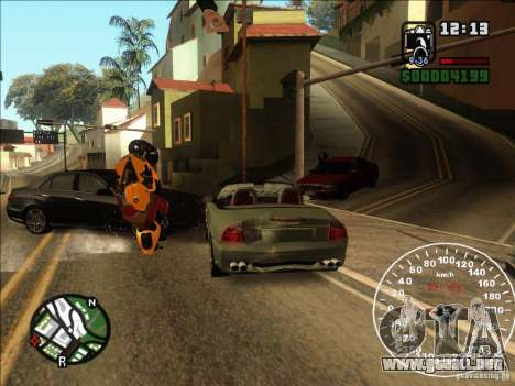 Spyder Cambriocorsa para visión interna GTA San Andreas