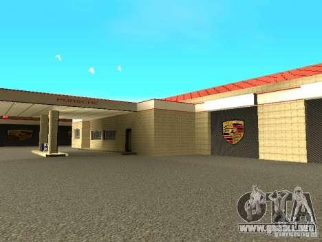 Garaje de Porsche para GTA San Andreas sexta pantalla