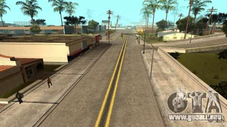 New HQ Roads para GTA San Andreas segunda pantalla