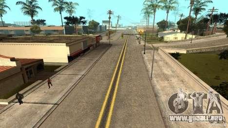 New HQ Roads para GTA San Andreas segunda pantalla