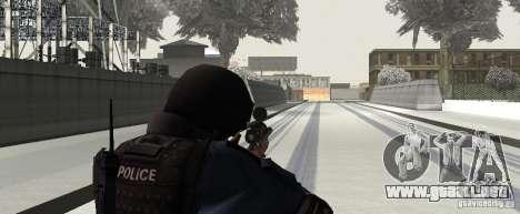 Rifle de GTA IV para GTA San Andreas sucesivamente de pantalla