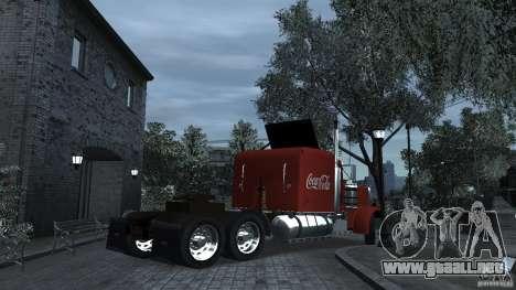 Coca-Cola para GTA 4 Vista posterior izquierda