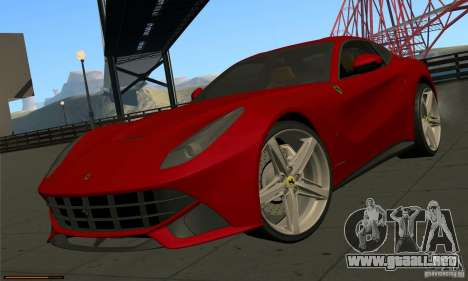 Ferrari F12 Berlinetta BETA para GTA San Andreas