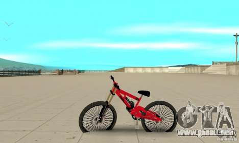 BMX nueva para GTA San Andreas left