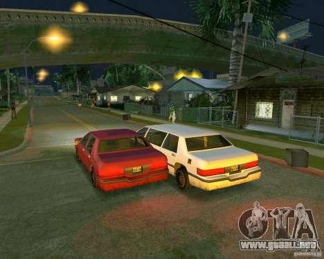 Elegant Limo para la visión correcta GTA San Andreas