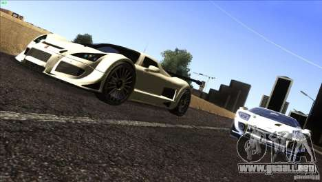 Gumpert Apollo para GTA San Andreas left