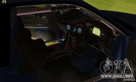 Nissan Skyline R34 GT-R LM para las ruedas de GTA San Andreas