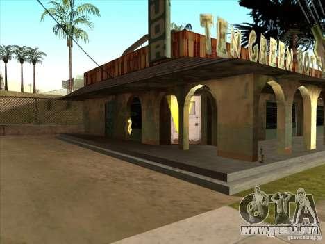 Asesoría jurídica de empresa Cidžeâ para GTA San Andreas segunda pantalla