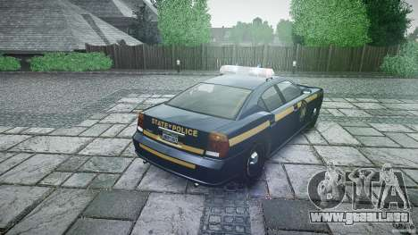 New York State Police Buffalo para GTA 4 vista lateral