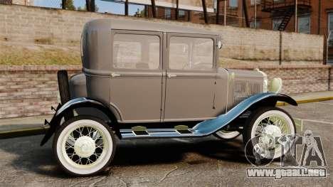 Ford Model T 1927 para GTA 4 left