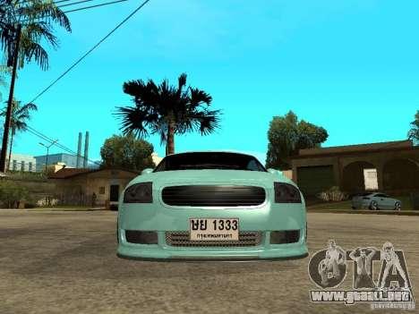 Audi TT para la visión correcta GTA San Andreas