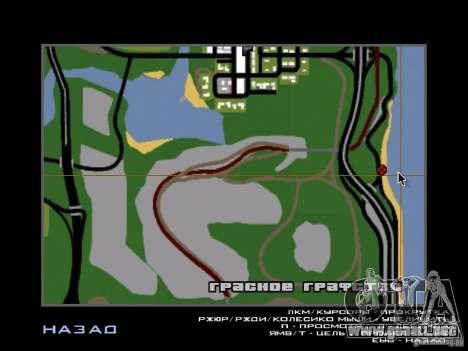 La ciudad subterránea secreta v1.0 para GTA San Andreas sucesivamente de pantalla