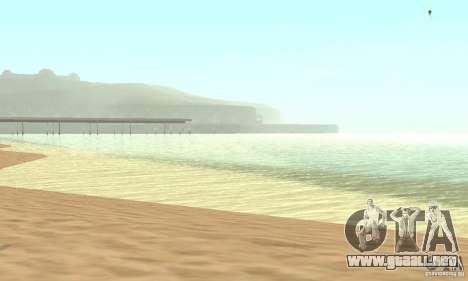 0,075 ENBSeries (agua) para GTA San Andreas tercera pantalla