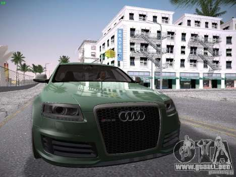 Audi RS6 2009 para GTA San Andreas