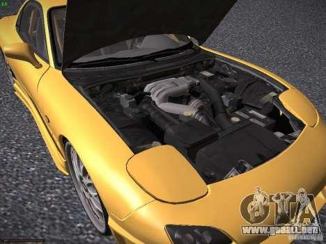 Mazda RX-7 FD3S C-West Custom para visión interna GTA San Andreas