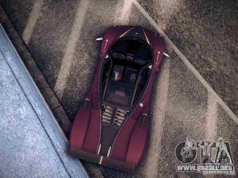 Pagani Zonda Tricolore 2010 para GTA San Andreas left