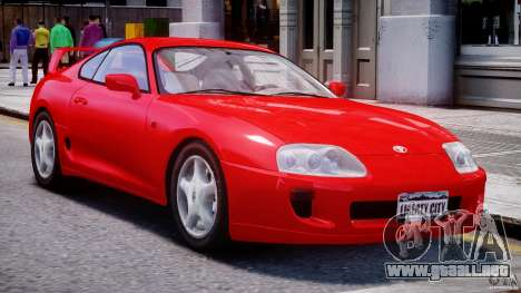 Toyota Supra MKIV 1995 v2.0 Final para GTA 4 left