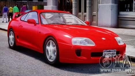 Toyota Supra MKIV 1995 v2.0 Final para GTA 4 left