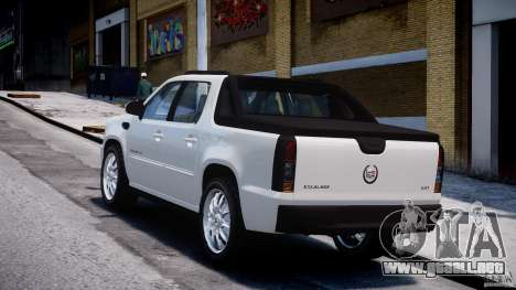 Cadillac Escalade Ext para GTA 4 vista interior