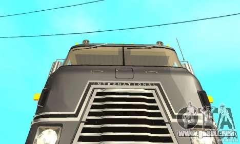 International Transtar II 1975 para visión interna GTA San Andreas