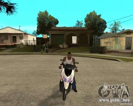 Honda Click para GTA San Andreas