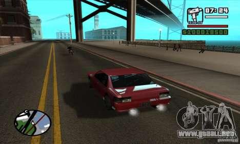 Enb Series HD v2 para GTA San Andreas segunda pantalla