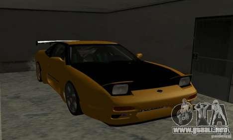 Nissan 240SX Drift Tuning para GTA San Andreas