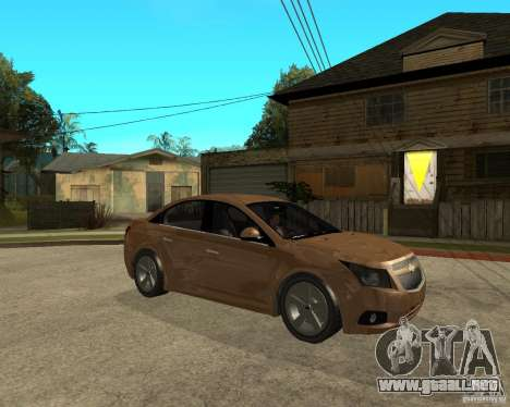 Chevrolet Cruze para la visión correcta GTA San Andreas