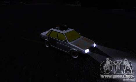 VAZ 21099 rata Mira para visión interna GTA San Andreas