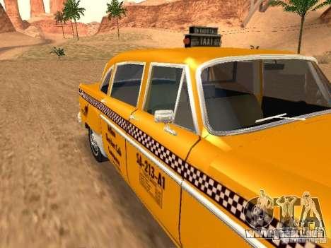 Checker Marathon Yellow CAB para la visión correcta GTA San Andreas