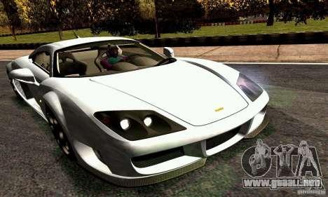 Noble M600 2010 V1.0 para GTA San Andreas