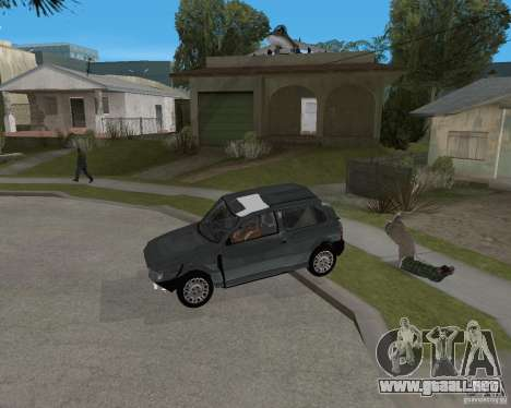 Fiat Mille Fire 1.0 2006 para vista inferior GTA San Andreas